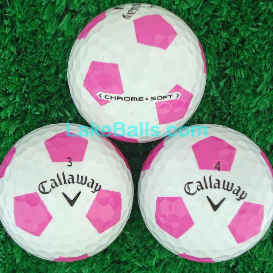 Callaway Chrome Soft TRUVIS Pink/White