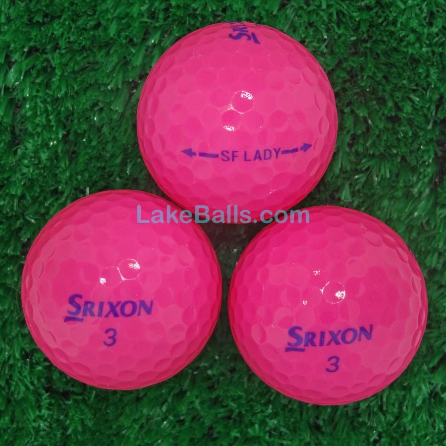 Srixon Soft Feel Lady Pink
