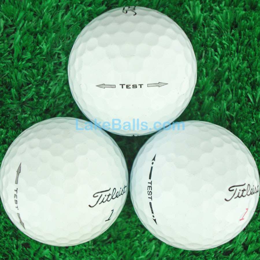 12 Titleist PRO V1/PRO V1X PROTOTYPE Golf Balls (Pearl/Grade A) - Very Limited Availability