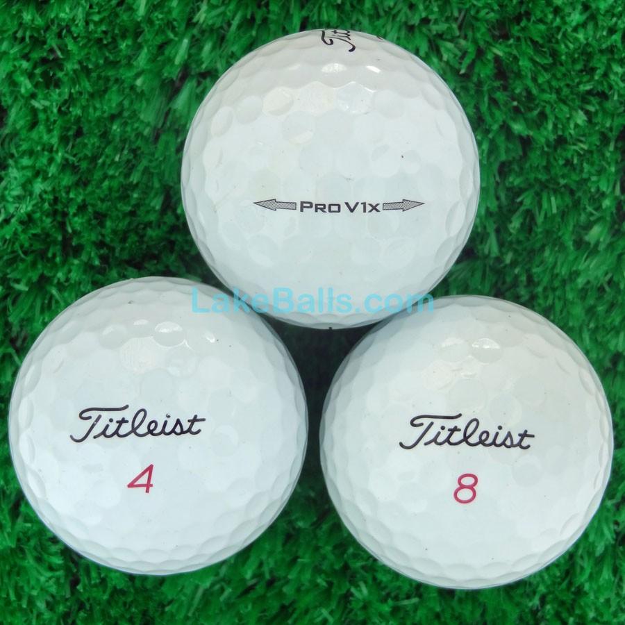 Titleist PRO V1X Lakeballs.com 66c0683da