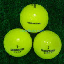 Bridgestone Tour B330 RX Yellow