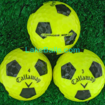 Callaway Chrome Soft Truvis Yellow & Black
