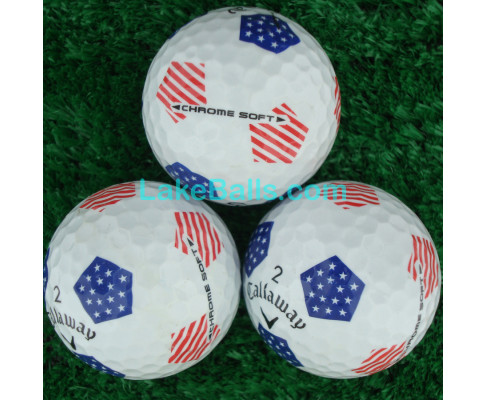 Callaway Chrome Soft Stars and Stripes USA TRUVIS