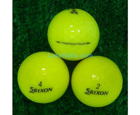 Srixon Trispeed Tour Yellow