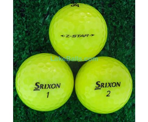 Srixon Z-Star Yellow