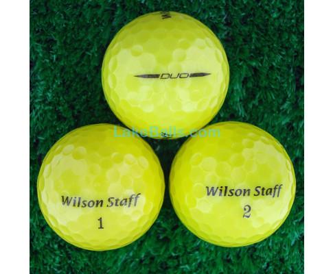 Wilson Staff DUO Yellow