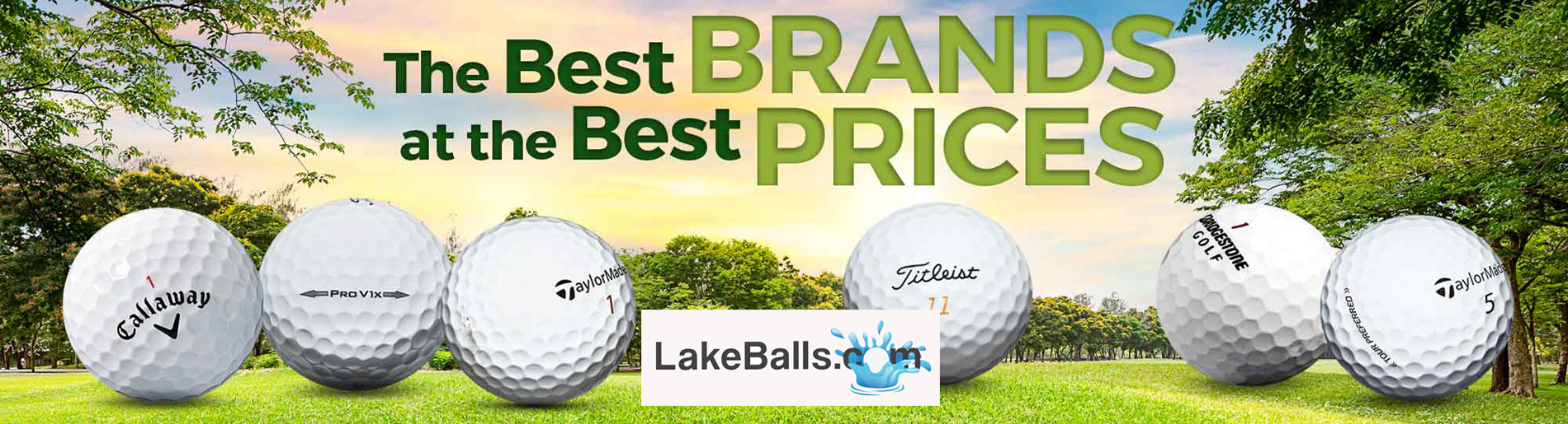 Quality Golf Balls at low prices