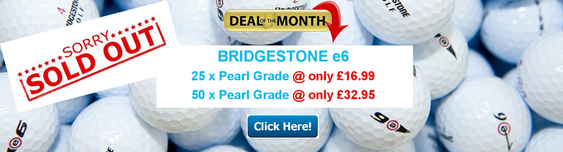 Bridgestone e6 Deal of the Month