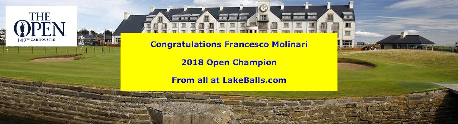 Congrats Francesco Molinari