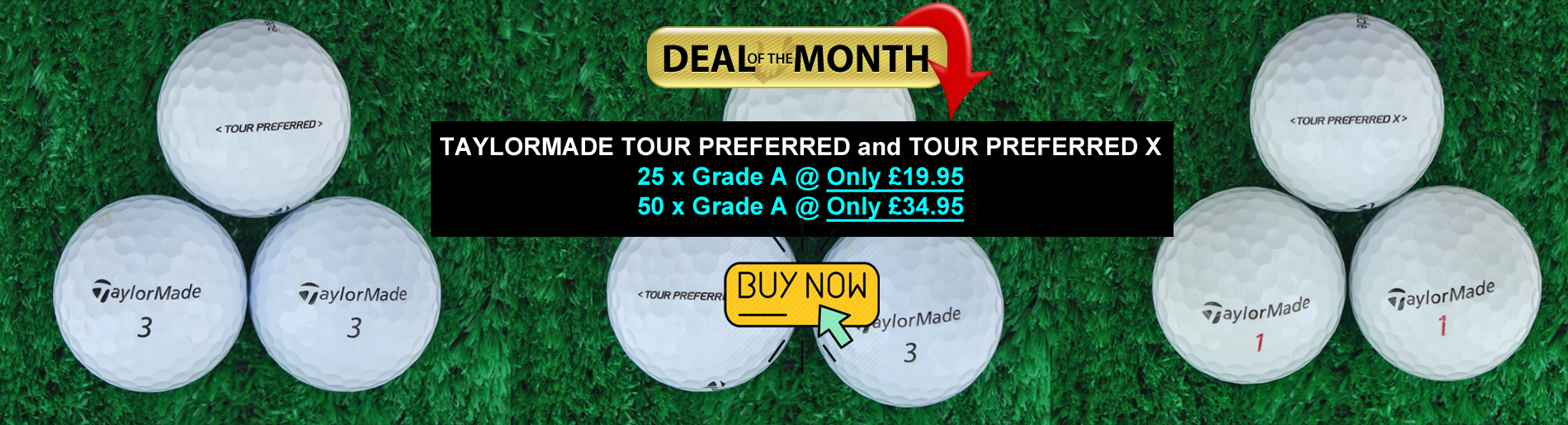 Taylormade Tour Preferred Deal of Month